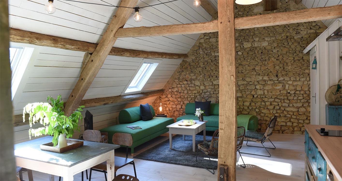 La cabane sous le toit